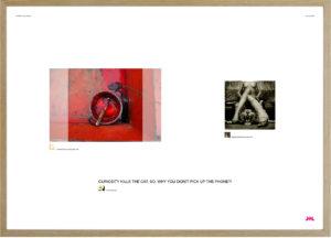 #166 framed LR