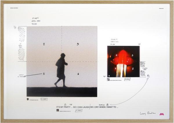 #287 framed LR